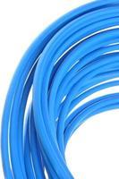 blauwe netwerkkabel foto
