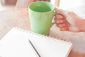 koffietijd in coffeeshop