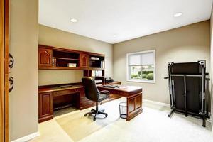 praktisch interieurdesign. kantoor foto