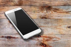 realistische mobiele telefoon foto