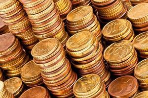 gouden munt foto