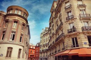 straat in Parijs foto