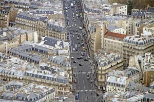 rue de rennes, parijs foto