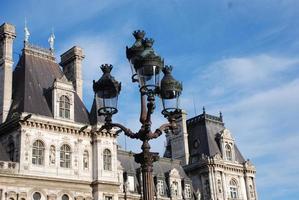 hotel de ville in Parijs foto