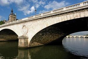 pont au change in Parijs foto