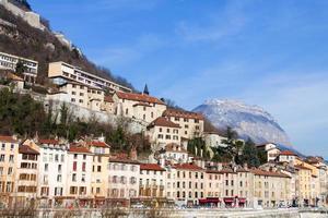 zicht op Grenoble Bastille foto