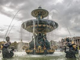 Fuente de la plaza de la concordía foto