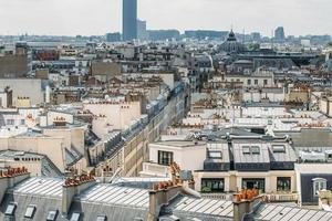 parijs van galeries lafayette foto