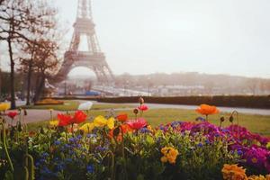 lente in Parijs foto