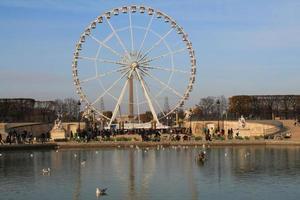 grande roue de paris, frankrijk foto