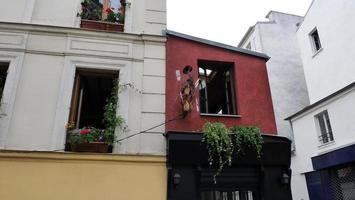 Parijs stadsappartementen foto