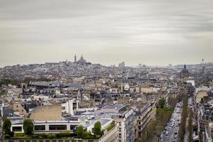 montmartre, parijs, frankrijk foto
