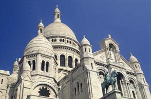 francia parigi la chiesa del sacre coeur foto