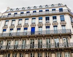 architectuur in Parijs foto