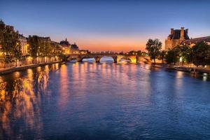 middernacht in Parijs foto