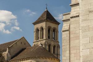 kerk naast de basiliek sacre coeur foto