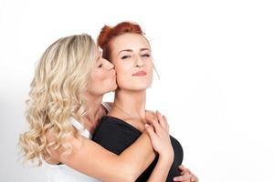 moeder en dochter relaties. familie. foto
