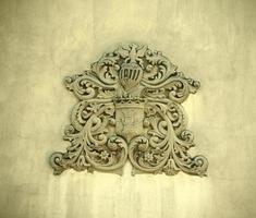 Hohenzolern wapen van de koninklijke familie foto