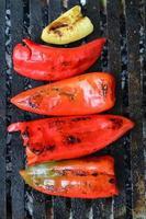 paprika op de grill
