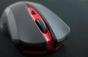 draadloze muis close-up foto