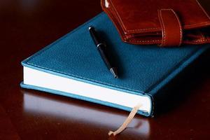 set mannen dagboek portemonnee horloges foto
