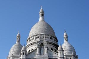 basilique sacre coeur, parijs foto