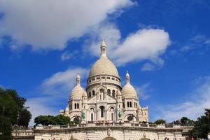 basilique du sacré coeur à paris, frankrijk foto
