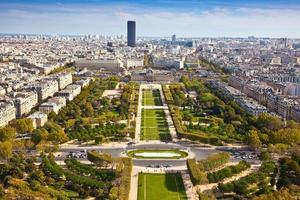 gebied van mars. bovenaanzicht. Parijs. Frankrijk foto