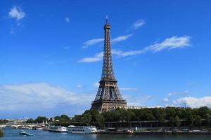 la tour eiffel, parijs foto