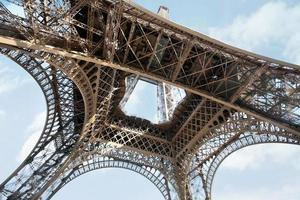 de Eiffeltoren, parijs foto