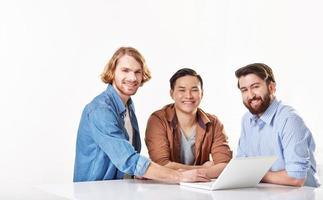 succesvolle medewerkers foto