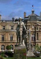 luxemburg gardens, paris, frankrijk foto