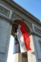 triomfboog in Parijs foto