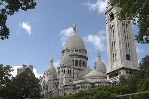 sacre coeur in Parijs foto