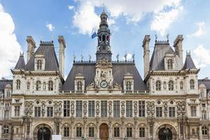 Parijs, hotel de ville foto