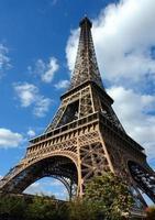 Parijs, Frankrijk, Eiffeltoren; foto