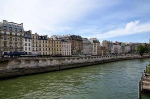de Seine, Parijs, Frans foto