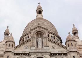 sacre coeur, paris, frankrijk foto