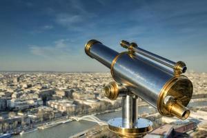 Parijs vanaf de Eiffeltoren foto