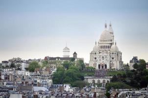 basilica sacre coeur in Parijs foto