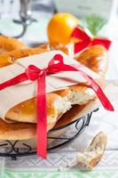 Franse kerstcrumpets foto