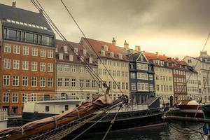 Kopenhagen Nyhavn haven