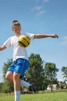 voetbal training foto