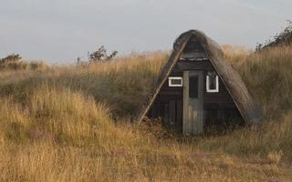 oude schuilplaats foto