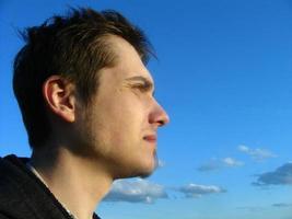 mannelijk portret foto