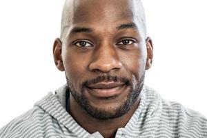 zwarte man portret