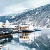 noorse fjorden foto