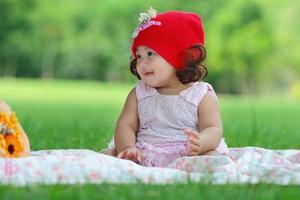 klein Aziatisch meisje foto