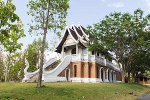 Aziatische bakstenen gebouw foto
