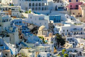 Griekse huizen foto